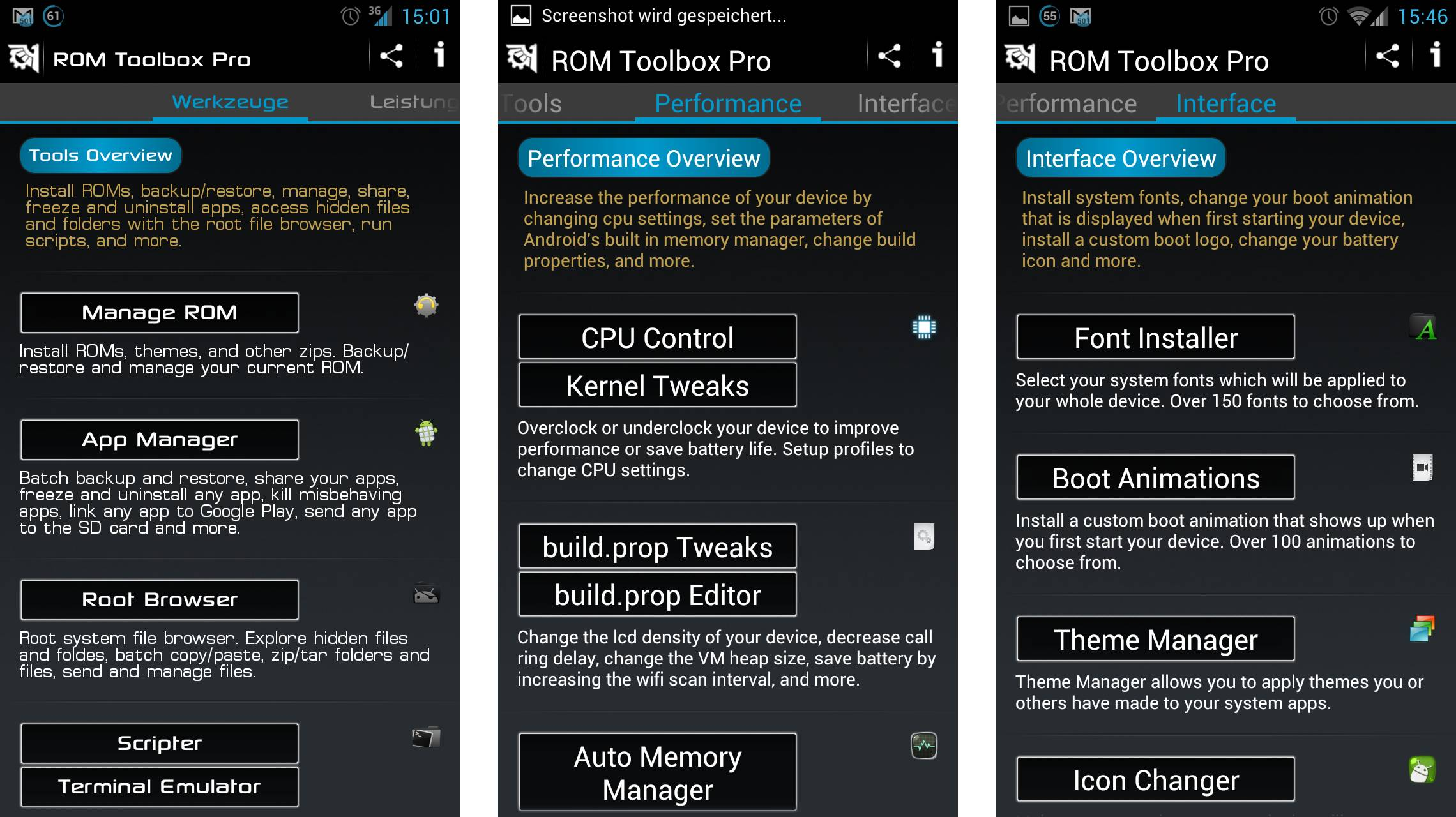 Rom Toolbox Android Скачать