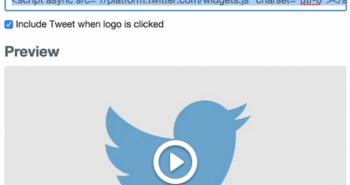 تويتر تتيح تضمين تغريدات الفيديو في المواقع