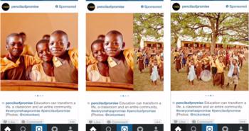 انستغرام تتيح نشر عدة صور في المشاركة الواحدة للمعلنين