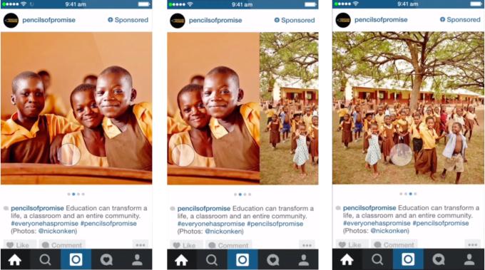 انستغرام تسمح للمعلنين بوضع اعلانات فيديو طولها 5 دقائق