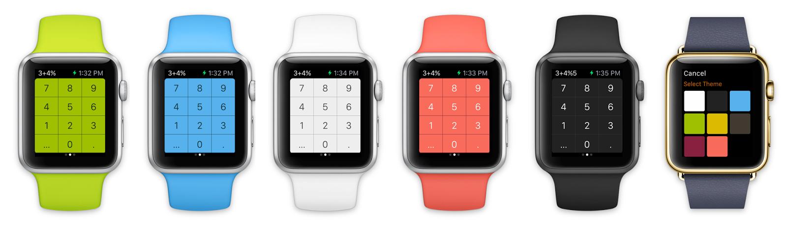 تحديث الآلة الحاسبة Calculator على iOS ليدعم ساعة أبل ووتش