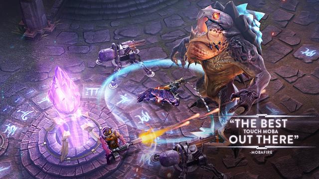 لعبة المعارك الجماعيّة Vainglory على iOS