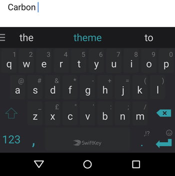 Carbon-default-theme-SwiftKey