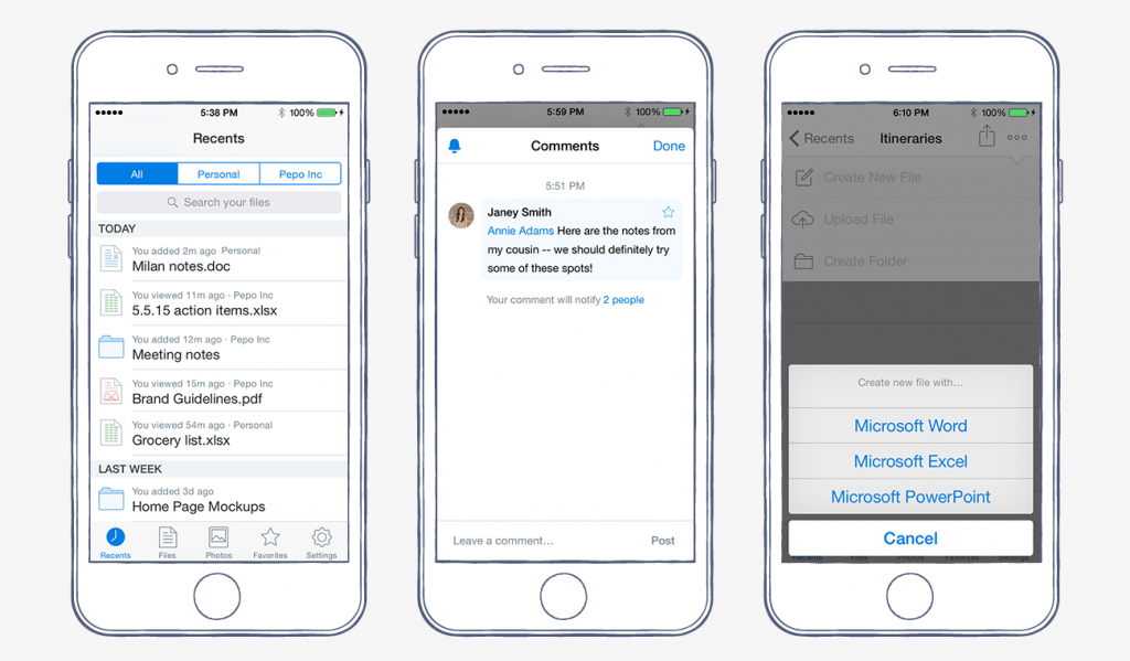 تحديث تطبيق دروب بوكس على iOS بوظائف ومميزات جديدة