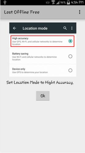 Lost Offline تطبيق عربي لإيجاد هاتفك المفقود بدون إتصال بالإنترنت