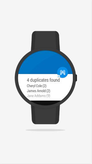 تطبيق + Merge لدمج أو حذف جهات إتصالك المكررة في أندرويد