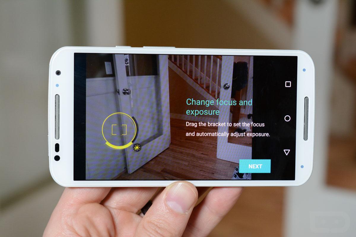 موتورولا تُحدّث تطبيق الكاميرا خاصتها بميزة خيار التعريض