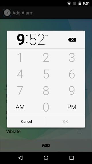Wave Alarm تطبيق مُنبّه ذكي وإيقافه عبر حركة يدك في أندرويد