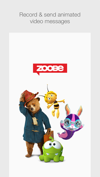 Zoobe لإنشاء رسائل بالرسوم المتحركة 3D ومشاركتها بين أصدقائك