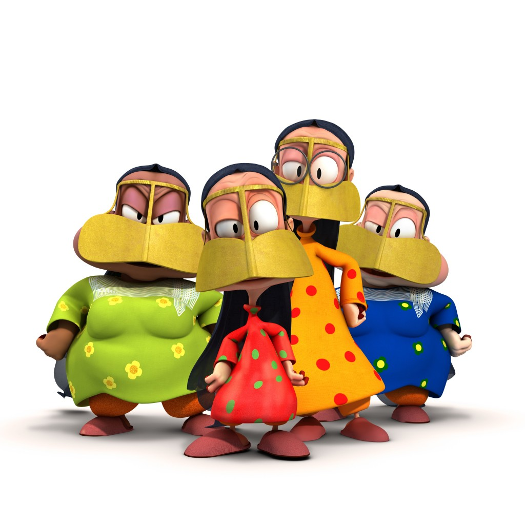 Freej characters