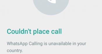 """إعادة حجب المكالمات الصوتية عبر واتساب .. والسعوديين """"يا فرحة ما تمت"""""""