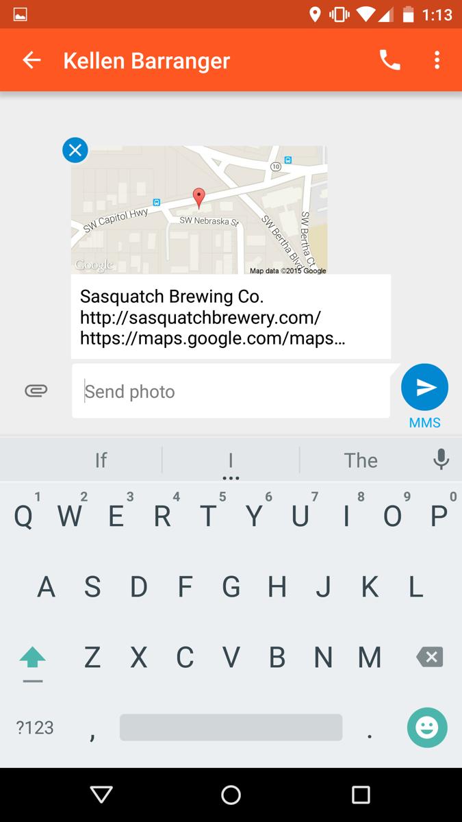 تحديث تطبيق Messenger من قوقل يجلب ميزة مشاركة الموقع وأكثر