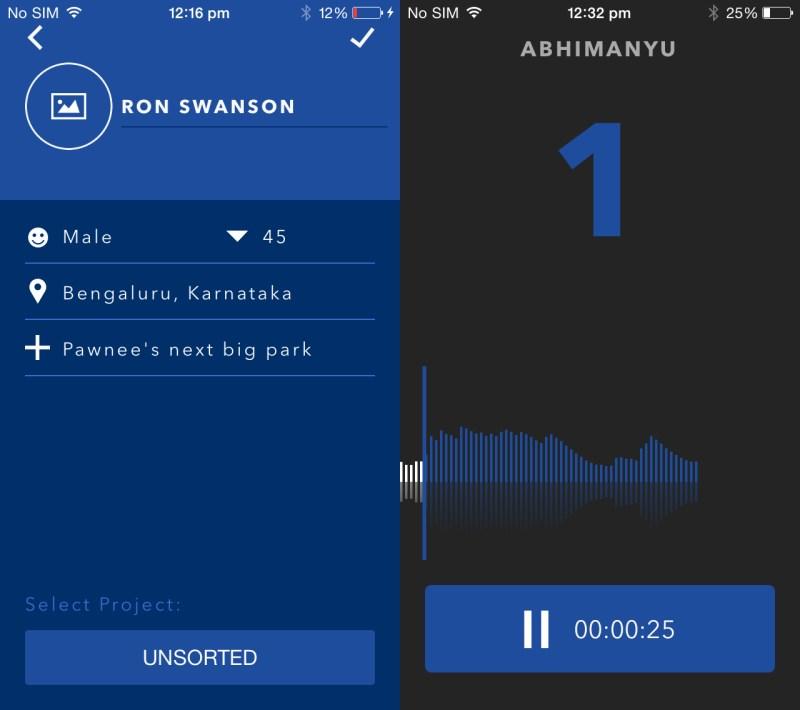 Pio التطبيق المثالي لتسجيل الأصوات وخاصةً في المقابلات على iOS
