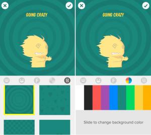 Snackshots لإنشاء ملصقات خاصة بك لاستخدامها مع فيسبوك ماسنجر
