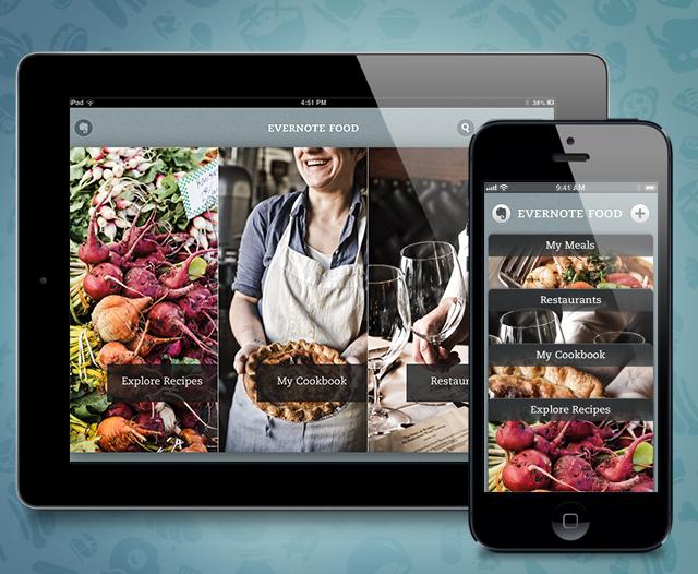 Evernote ستقوم بإغلاق تطبيقها Food في 30 من سبتمبر القادم
