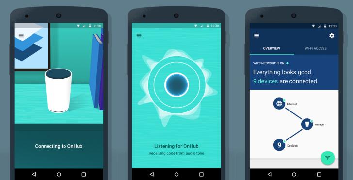 تطبيق Google On للتحكم بالراوتر العصري OnHub من قوقل