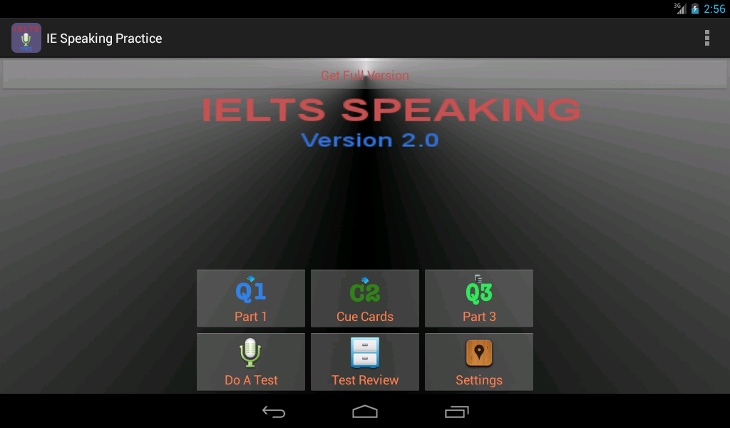 IELTS Speaking Practice