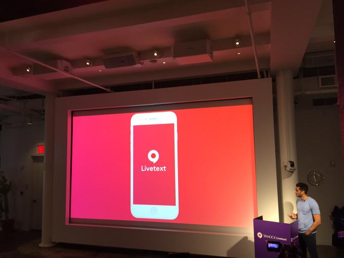 تطبيق Livetext من ياهو متوفّر الآن للجميع