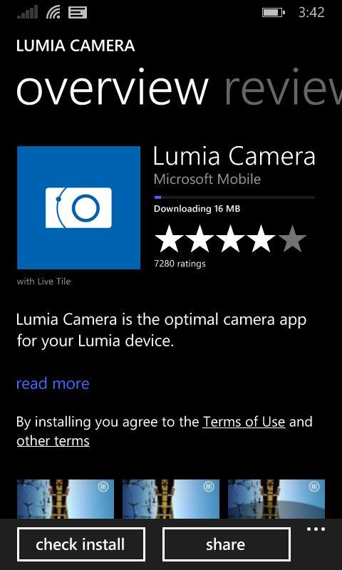 تطبيق Lumia Camera يعمل الآن على هواتف أخرى غير هواتف لوميا