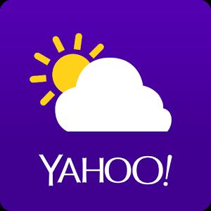 تحديث Yahoo Weather بميزة التنبيه قبل 15 دقيقة بحالة الطقس