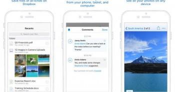تحديث Dropbox ليدعم ميزات iOS 9 وتقنيات هواتف أبل الجديدة