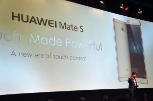 IFA 2015: هواوي تطلق الهاتف اللوحي Mate S بتقنية Force touch قبل الآيفون