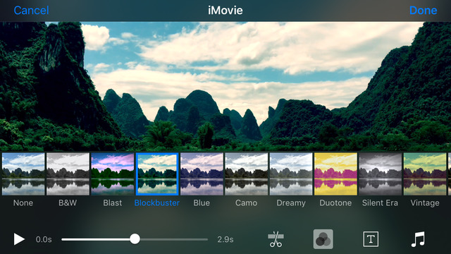 أبل تُحدّث تطبيقها iMovie على iOS بدعمه عرض الفيديو بدقة 4K وأكثر