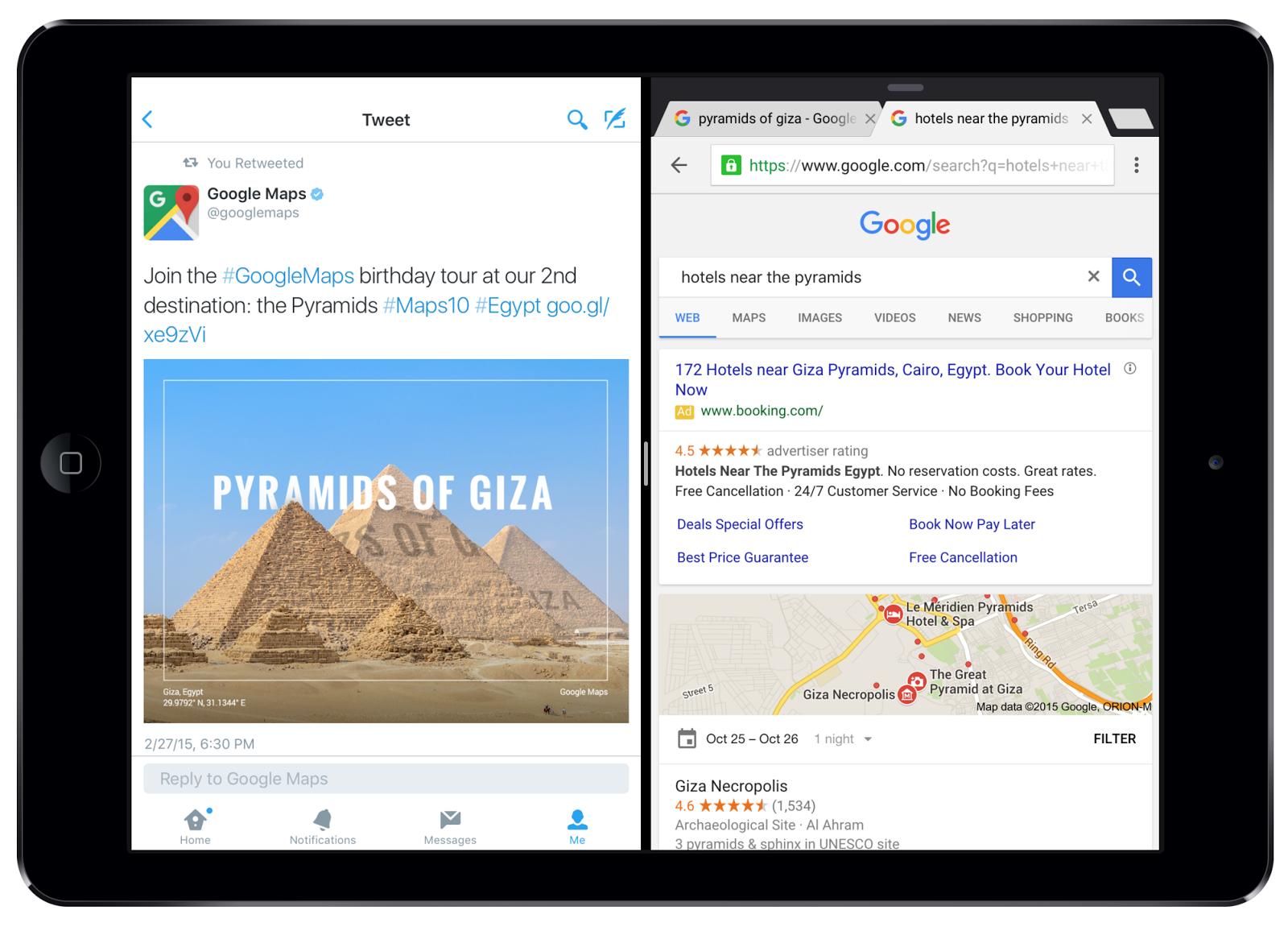 تحديث كروم على iOS يجلب ميزة تعدد المهام وتبسيط التسوق