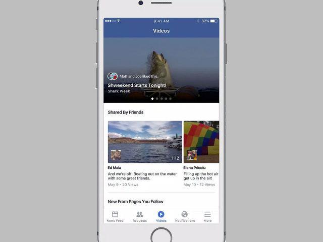 فيس بوك تختبر إنشاء قسم كامل للفيديو لمنافسة يوتيوب
