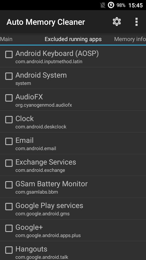 Auto Memory Cleaner لتظيف ذاكرة الأندرويد على نحو فعّال