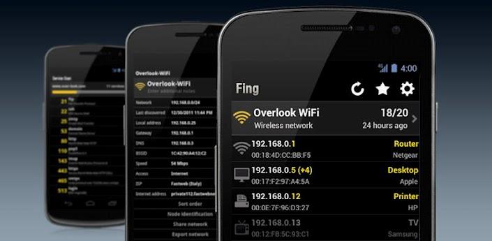 تطبيق Fing لمعرفة الأشخاص المتصلين بشبكة الواي فاي خاصتك وأكثر