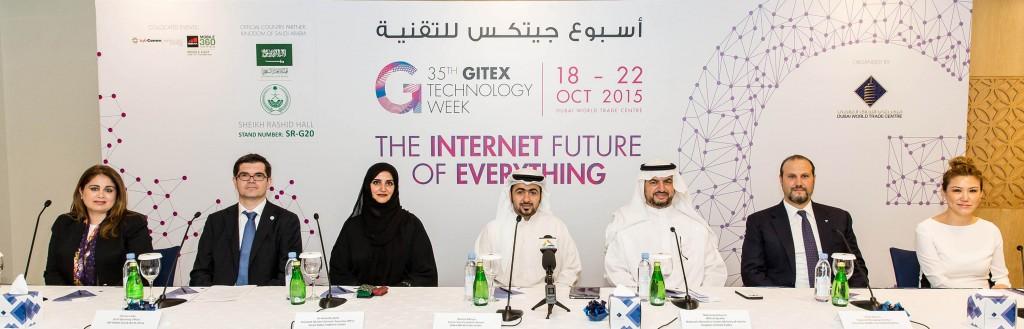 GITEX 2015 - Press Conference 1
