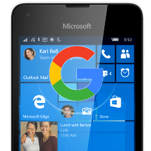 Google-may-prep-YouTube-Hangouts-and-others-for-Windows-10-Mobile