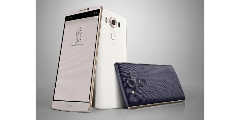 """LG Electronics' New Smartphone """"V10"""""""
