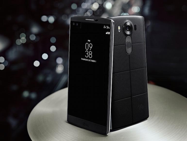 الإعلان عن LG V10 رسميا بشاشتين وذاكرة عشوائية 4 جيجا