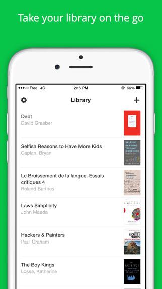 تطبيق Read خير بديل لتطبيق القراءة iBooks على iOS