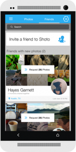 Shoto تطبيق متكامل لمشاركة الصور بين الأصدقاء في ألبوم مشترك