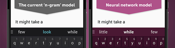 لوحة المفاتيح الأولى بنوعها في العالم SwiftKey Neural Alpha على أندرويد