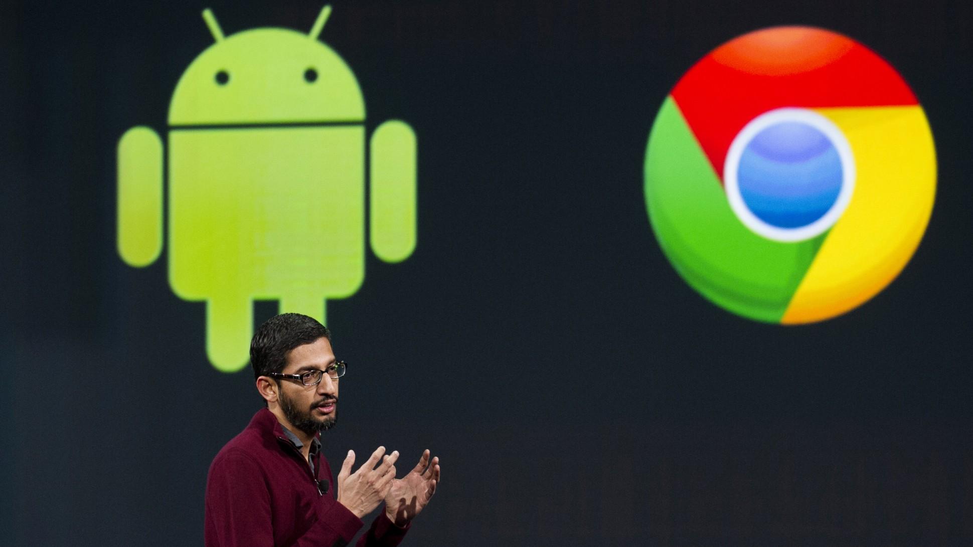 قوقل تخطط لدمج نظام Chrome OS مع نظام أندرويد بحلول 2017