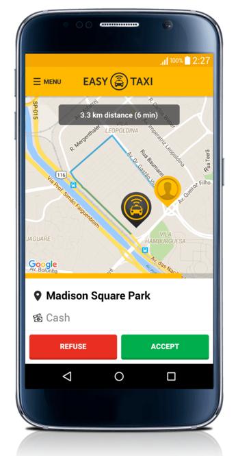 تطبيق إيزي تاكسي بنسخة جديدة على كافة أنظمة تشغيل الهواتف الذكية