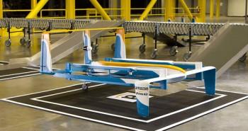 أمازون تكشف عن نموذجٍ جديد لطائرة تسليم بضائعها بدون طيار