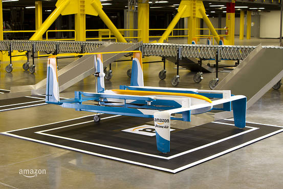 أمازون تكشف عن نموذج جديد لطائرة تسليم بضائعها بدون طيار
