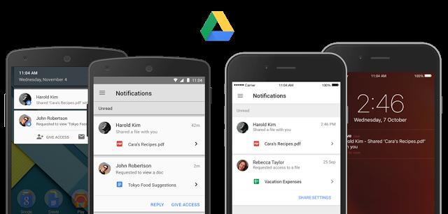 قوقل درايف ، تحديث ، اندرويد ، تطبيق ، IOS ، Google Drive