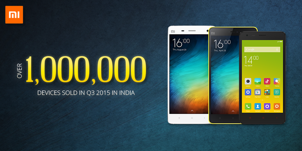 شاومي باعت مليون هاتف في الهند في الربع الثالث
