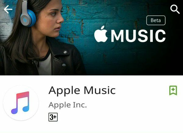 تطبيق Apple Music يصل إلى قوقل بلاي