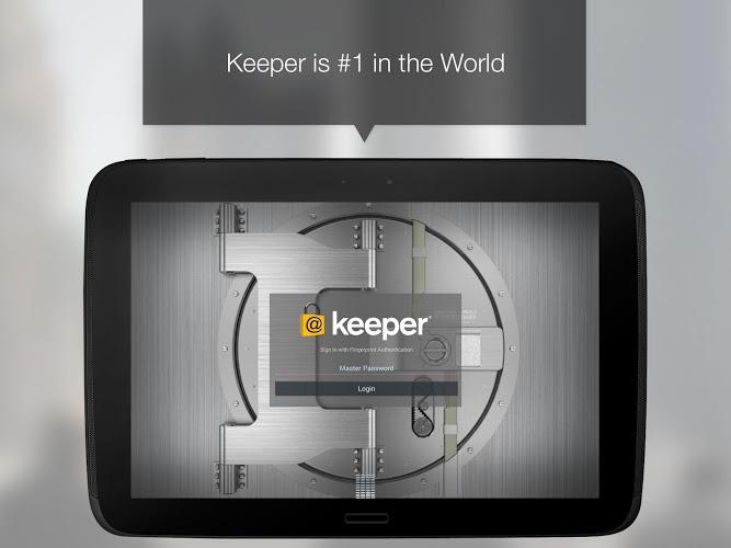 تطبيق حفظ كلمات المرور Keeper الآن يدعم أندرويد 60 والدخول ببصمة الأصبع