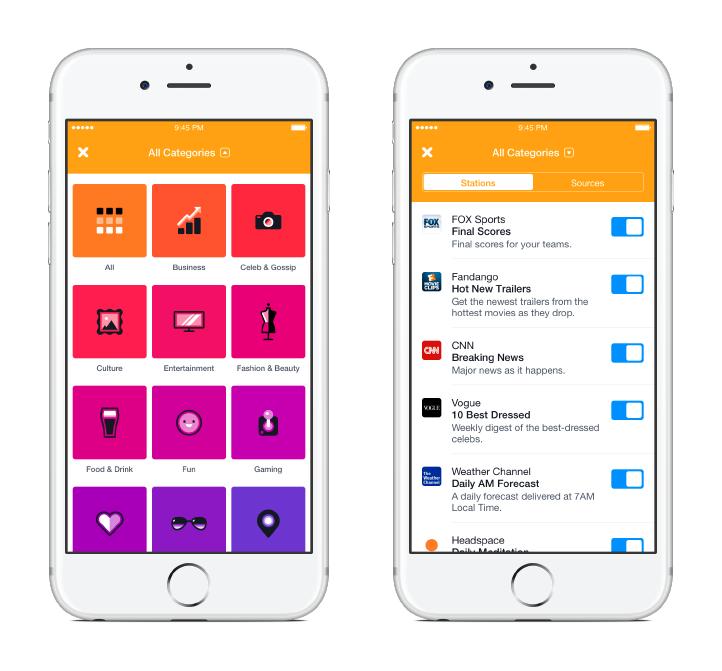 رسميا فيسبوك تطلق تطبيق الأخبار خاصتها Notify على iOS