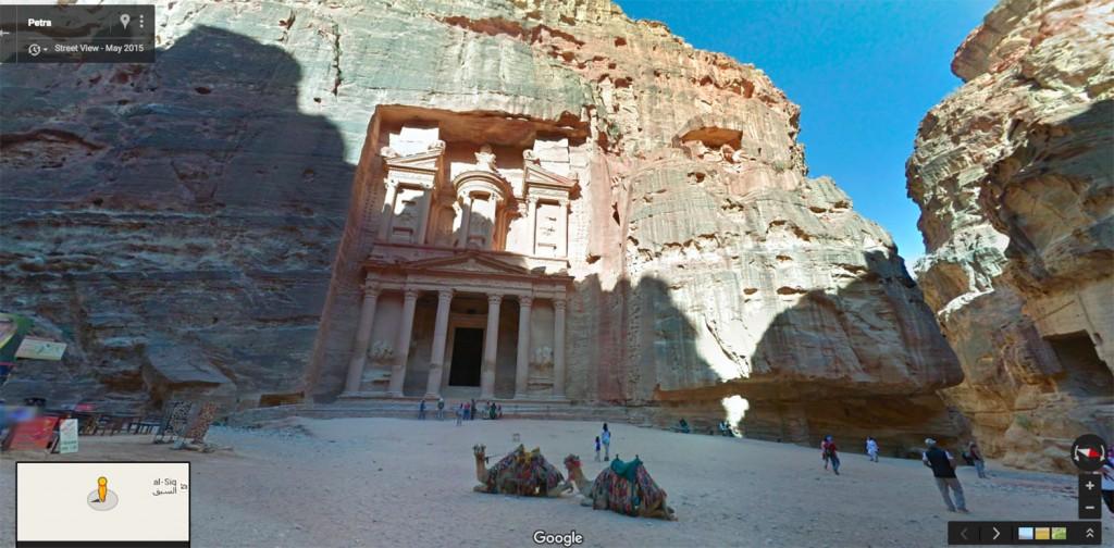 تجول في قلاع الأردن ومسارحها عبر Street View