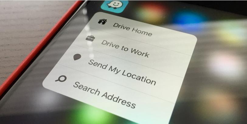 تطبيق الملاحة Waze على iOS يدعم الآن خاصية 3D Touch