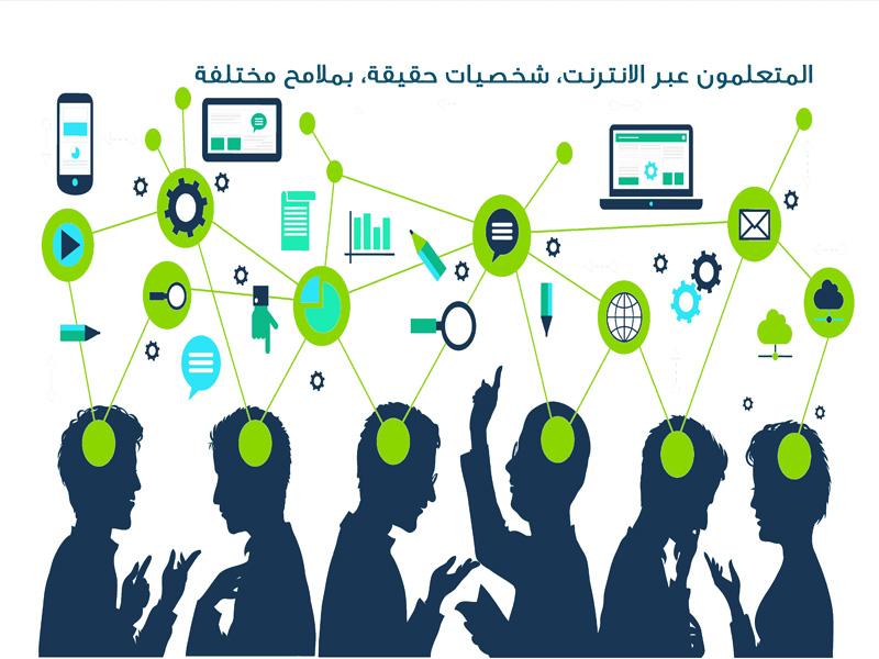 منصات التعلم الإلكتروني _ أكبر تجمع افتراضي لطيف واسع من المتعلمين